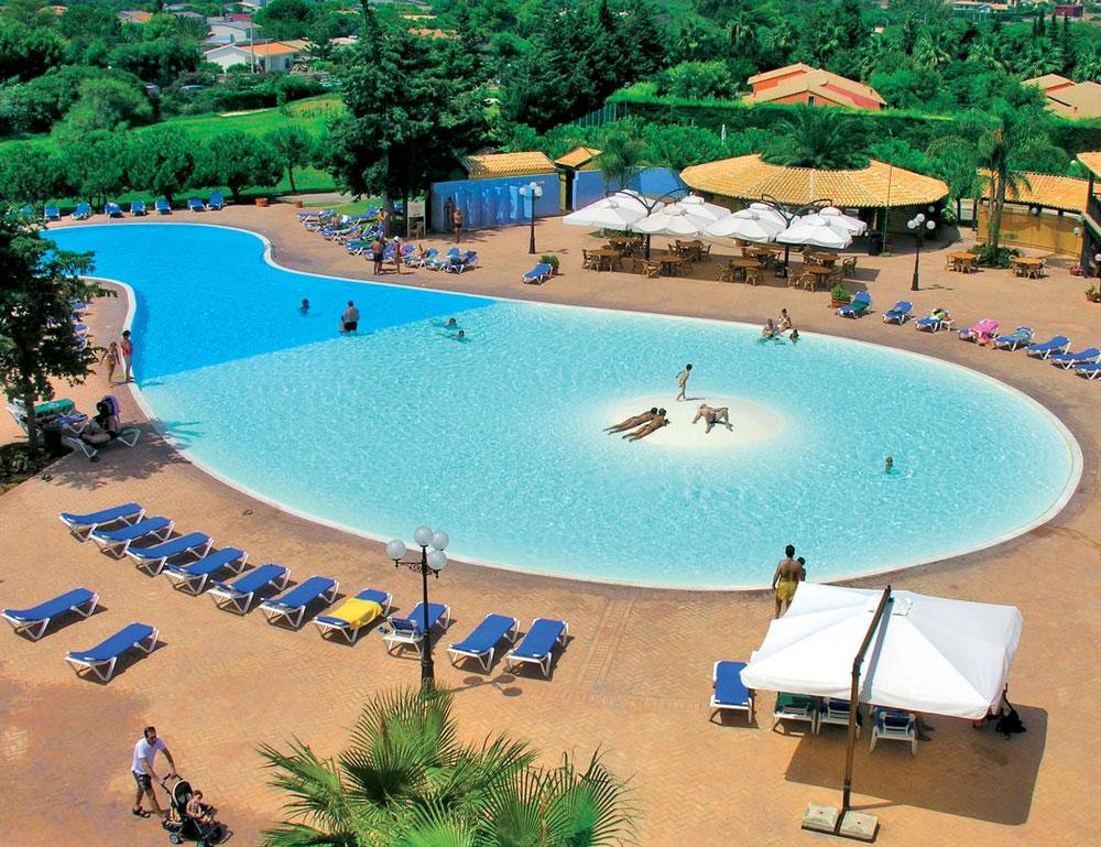 Villaggio turistico in Sicilia: Baia Samuele