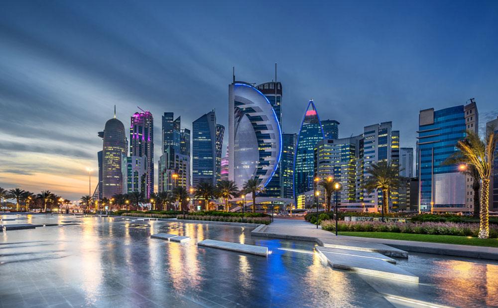 Doha - la capitale del Qatar