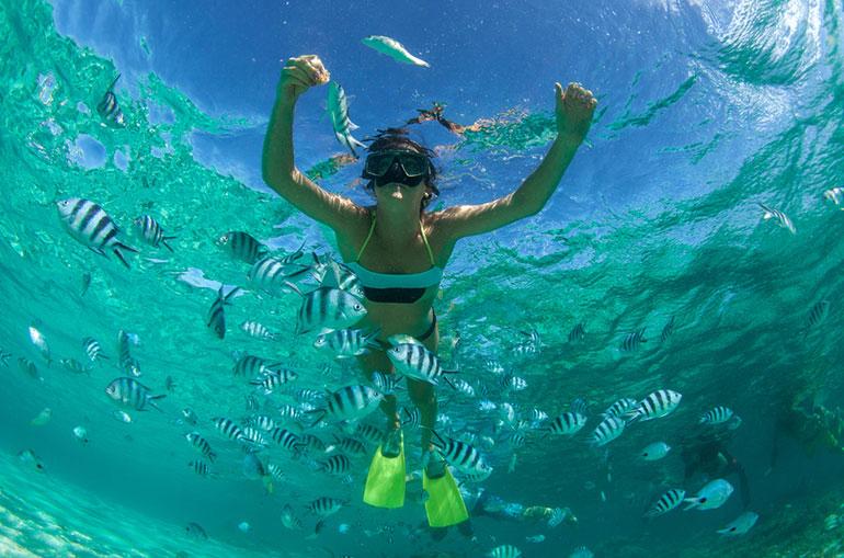 Mare Cristallino Oceano Indiano