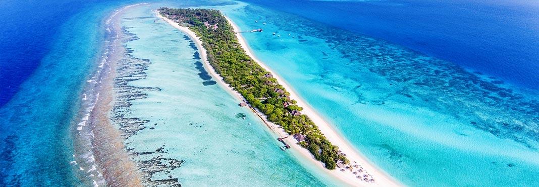 Palm Beach Maldive, Villaggio turistico Maldive