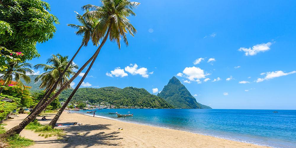 Isola di St. Lucia - Caraibi